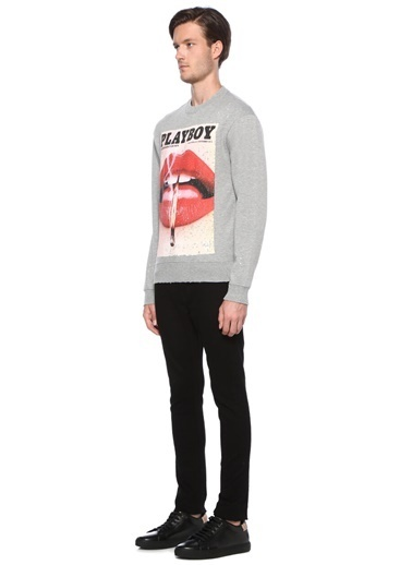 The Kooples Sweatshirt Gri
